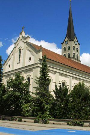 Pfarrkirche St. Mauritius in Schötz