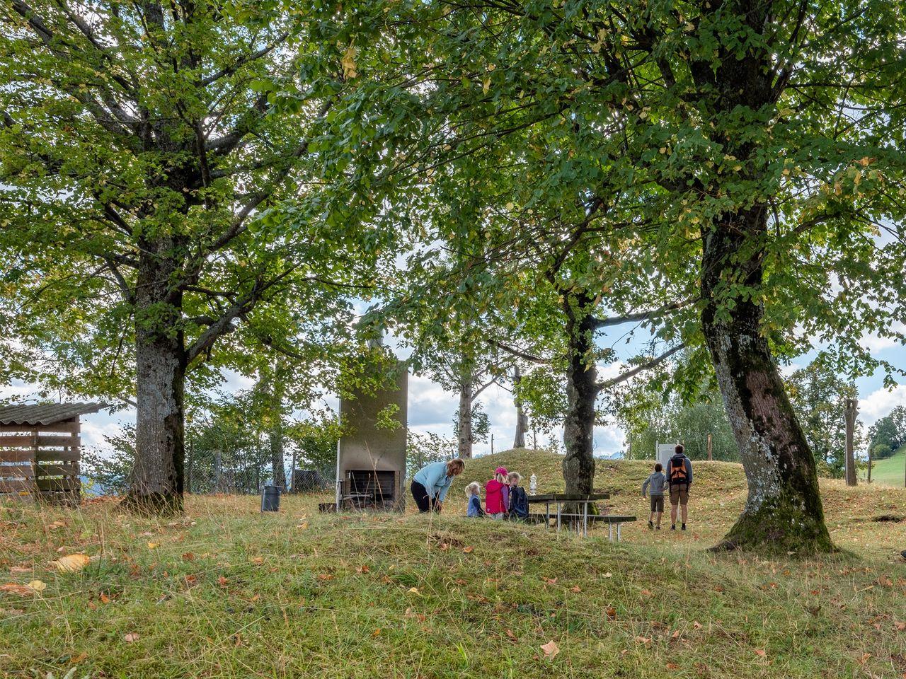 Luthern - Feuerstelle Sagenweg Schlosshoger