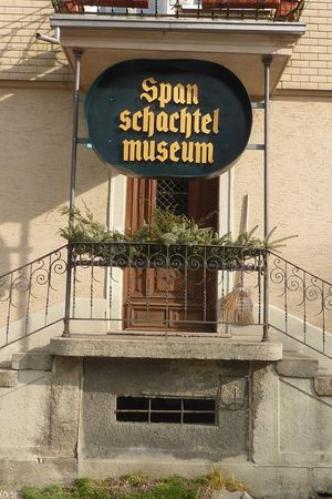 Spanschachtelmuseum Alberswil