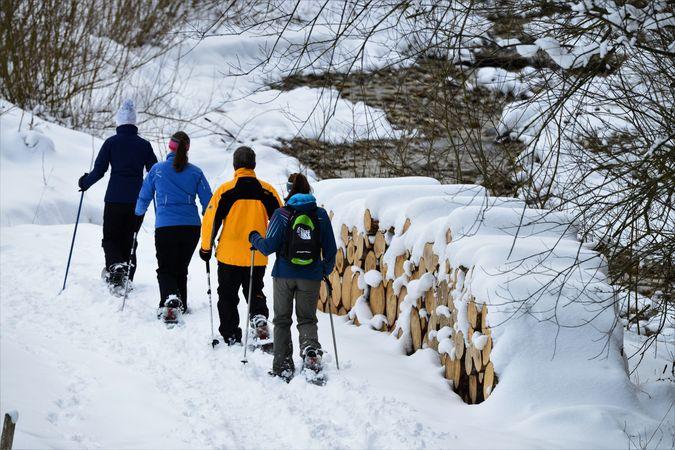 Schneeschuh Tour Luthern Bad - Hinter Ey - Badegg