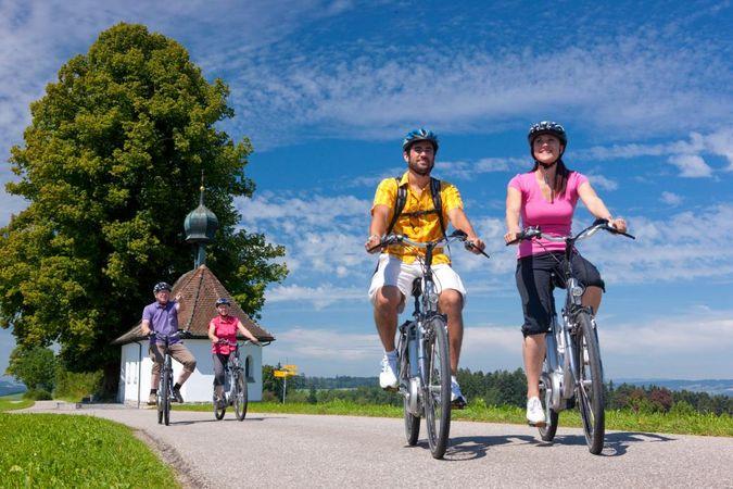 Willisau - Zug:  Auf der Herzroute gegen Norden (Schweiz Mobil Route 99)