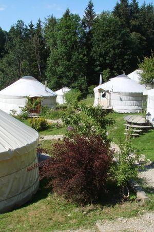 Jurtendorf im Napfgebiet