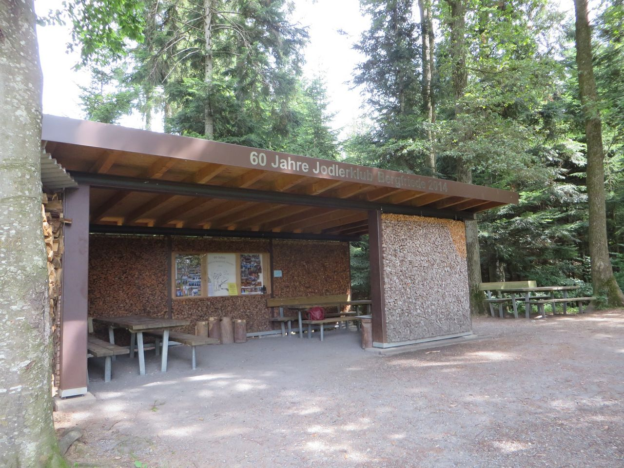 Menznau - Feuerstelle  Gassmeshauswald