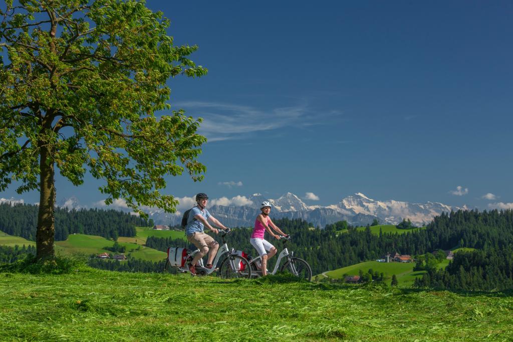 E-Bike Rundtour Herzschlaufe Napf ( (SchweizMobil Route 399)
