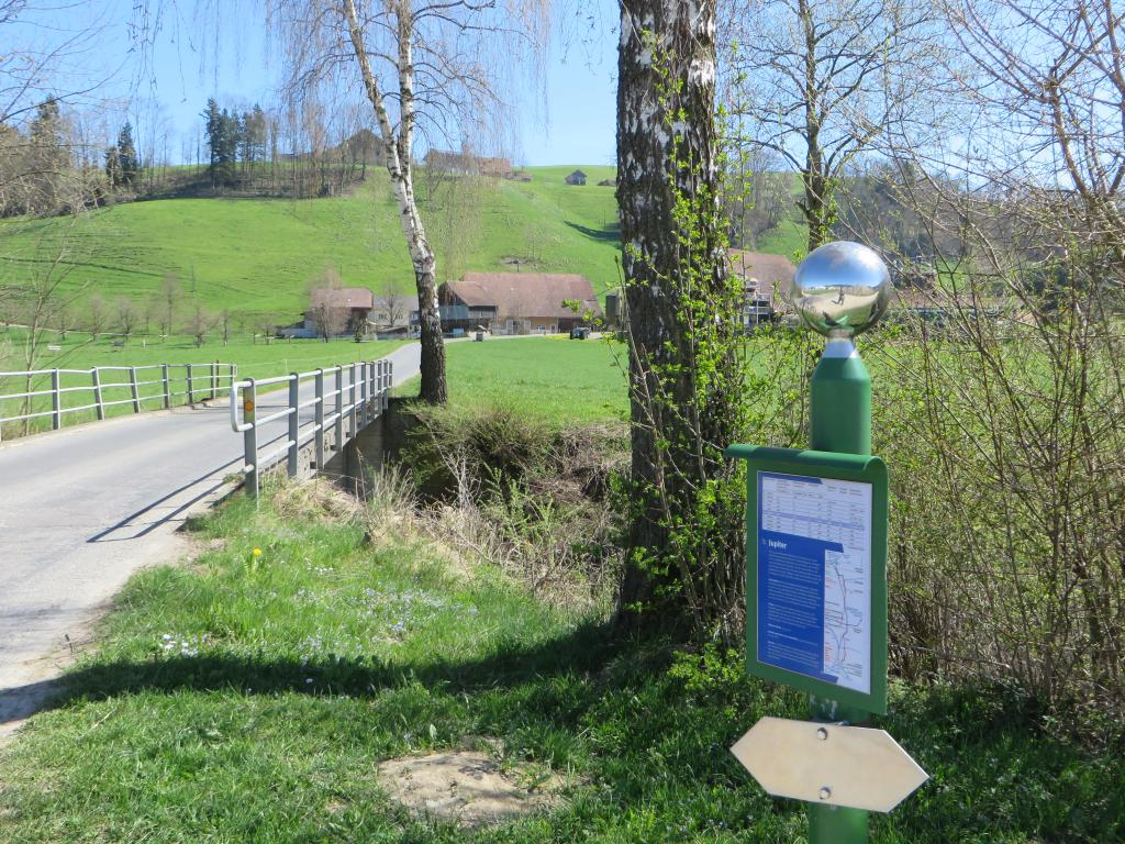 Planetenweg - Dem Wasser entlang von Willisau nach Schötz