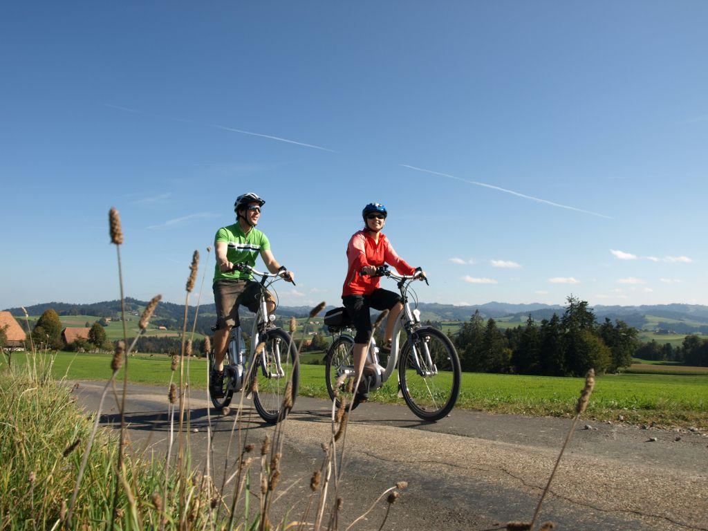 Willisau - Burgdorf: Der Herzrouten Klassiker durchs Emmental (Schweiz Mobil Route 99)