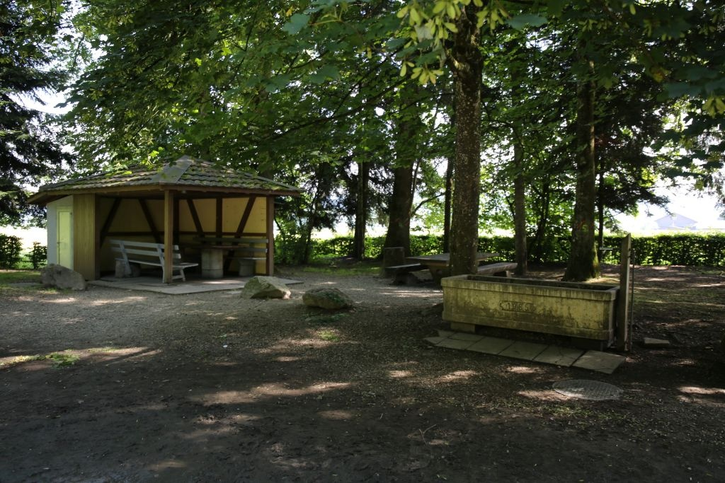 Schötz - Feuerstelle an der Luther