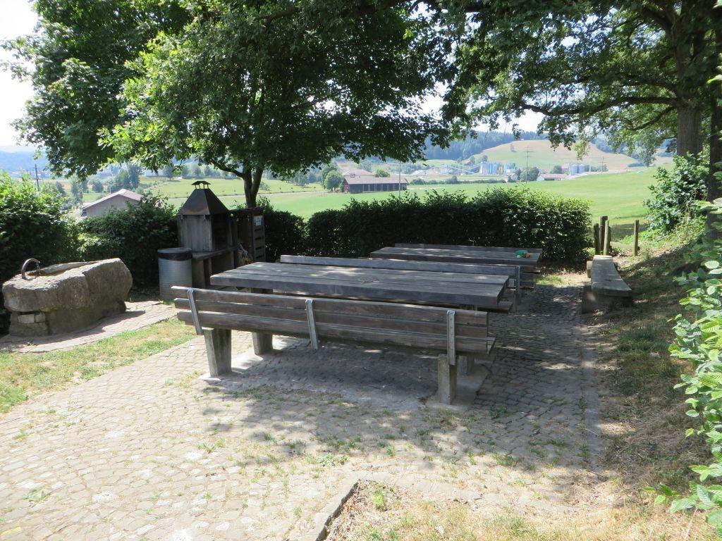 Alberswil - Feuerstelle Pfaffenhalde